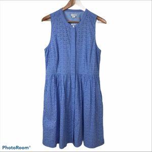 NWT J. CREW EYELET DRESS